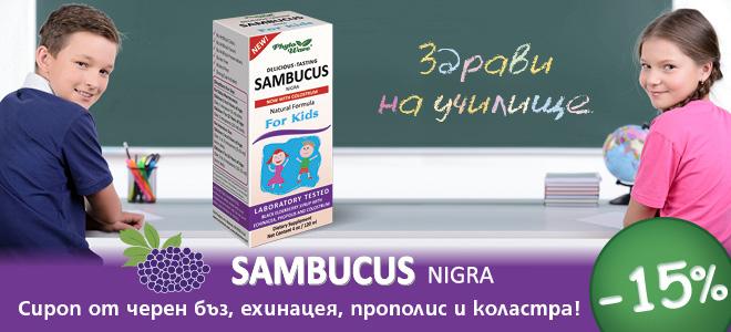 Самбукус Нигара сироп