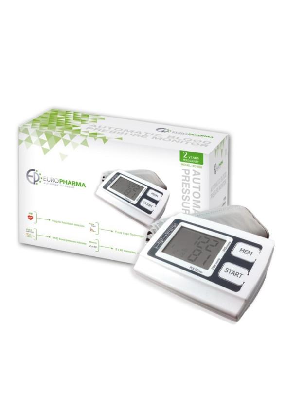 ЕВРОФАРМА Автоматичен апарат за измерване на кръвно налягане KD-558 | EUROPHARMA Automatic blood pressure monitor KD-558