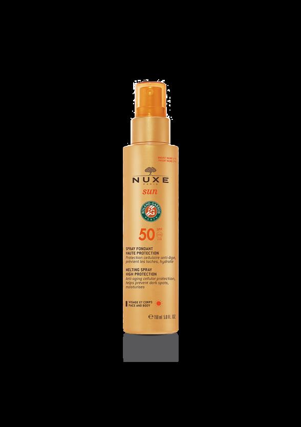 НУКС СЪН Крем с много висока защита SPF50 150мл   NUXE SUN Melting spray for face and body SPF50 150ml