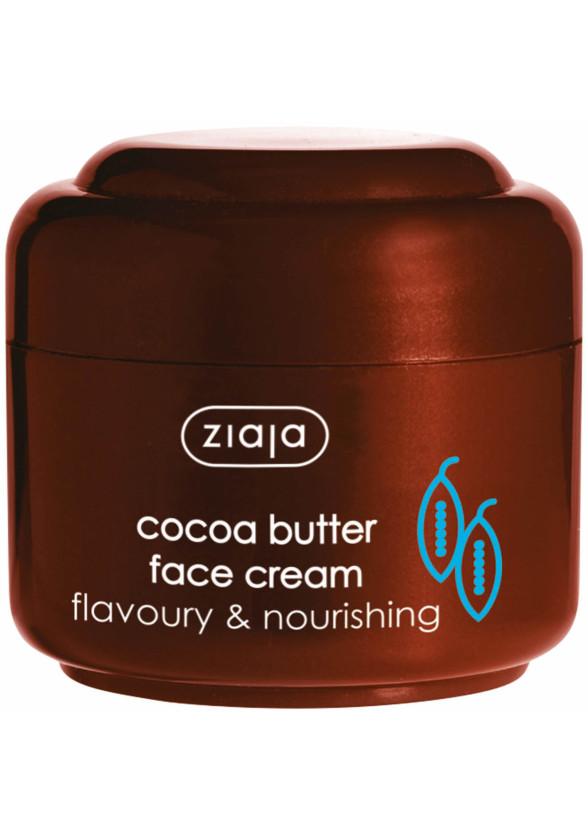 ЖАЯ Крем за лице с масло от какао 50мл | ZIAJA Cocoa butter face cream 50ml