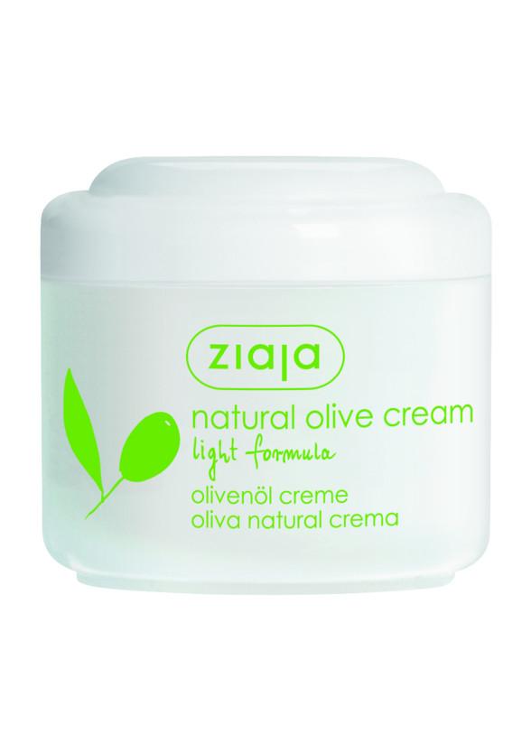 ЖАЯ Крем за лице с маслина лека формула 100мл | ZIAJA Natural olive cream light formula 100ml