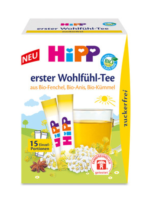 ХИП БИО Екстрактен чай Комфорт 15 сашета | HIPP BIO Comfort instant tea 15 sachets