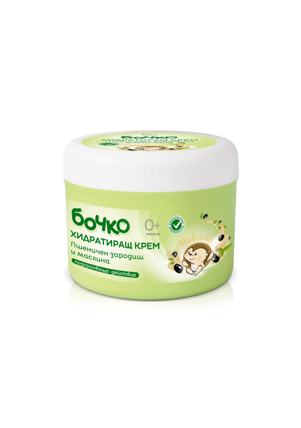 БОЧКО Хидратиращ крем с Пшеничен зародиш и маслина 240мл | BOCHKO Moisturising cream Wheat germ and Olive 240ml