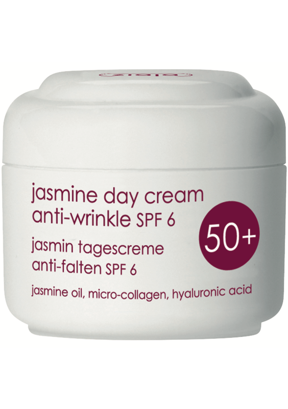 ЖАЯ Дневен крем за лице с жасмин със spf6 50+ 50мл | ZIAJA Jasmine day cream anti-wrinkle spf6 50+ 50ml
