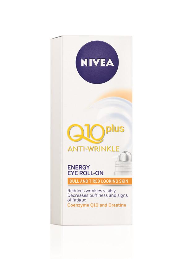 НИВЕА Q10+ Околоочен рол-он с енергизиращо действие 10мл   NIVEA Q10+ Anti-wrinkle energy eye roll-on 10ml