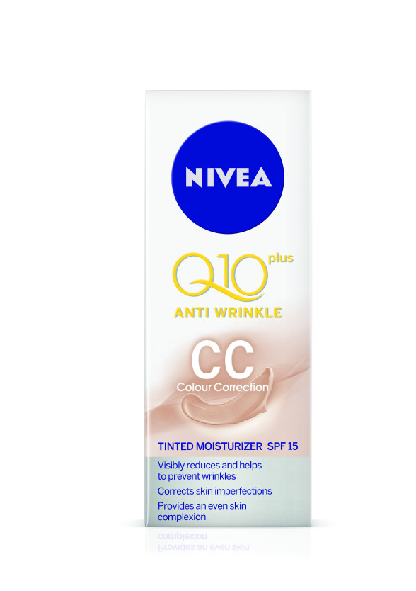 НИВЕА Q10+ ПАУЪР CC крем за лице 50мл | NIVEA Q10+ POWER CC anti-wrinkle 50ml