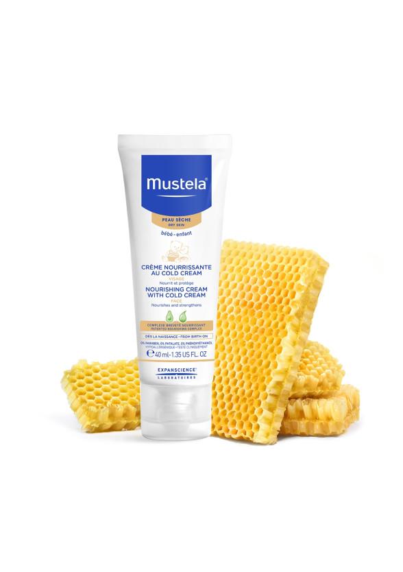 МУСТЕЛА Крем за лице с колд крем 40мл | MUSTELA Nourishing cream with cold cream 40ml