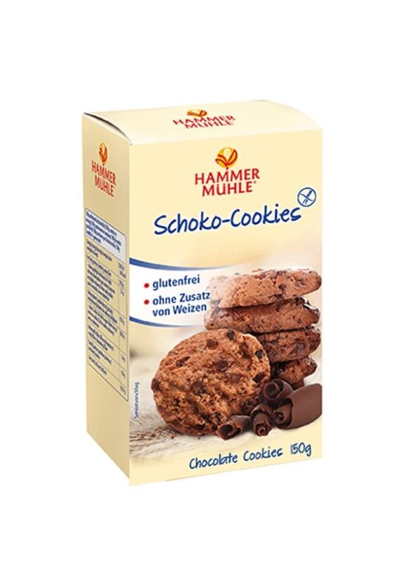 Бисквити с Шоколад, без глутен 150гр ХАМЕРМИЛ   Biscuits with Chocolate, gluten-free 150g HAMMERMÜHLE
