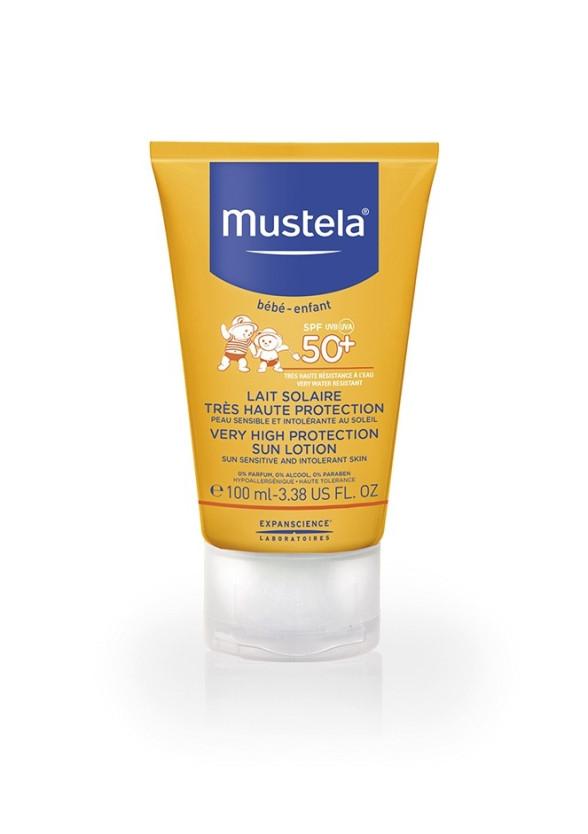 МУСТЕЛА SPF50+ Слънцезащитен лосион 100мл | MUSTELA SPF50+ Sun lotion 100ml