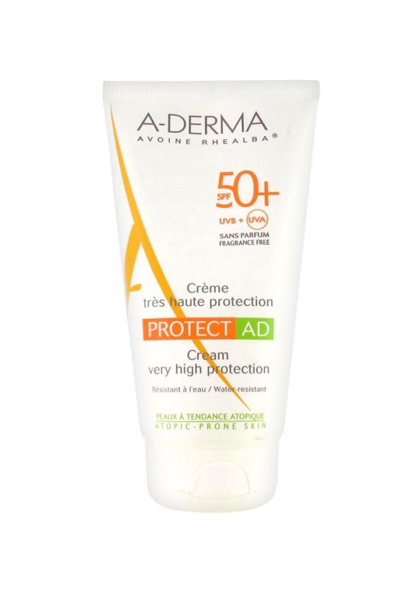 А-ДЕРМА ПРОТЕКТ АД Крем SPF50+ 150мл   A-DERMA PROTECT AD Cream SPF50+ 150ml