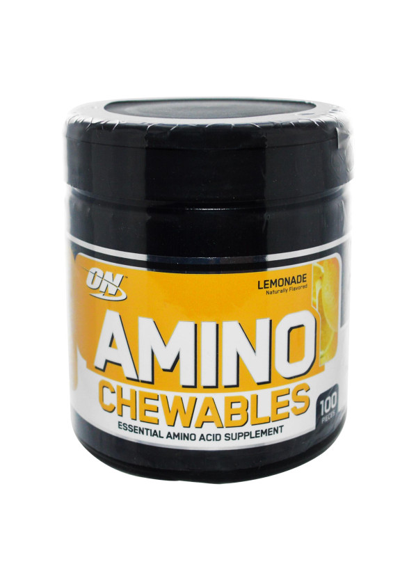 АМИНО ЗА ДЪВЧЕНЕ дъвчащи дражета 100 бр. ОПТИМУМ НУТРИШЪН | AMINO CHEWABLES chew.drag. 100s OPTIMUM NUTRITION