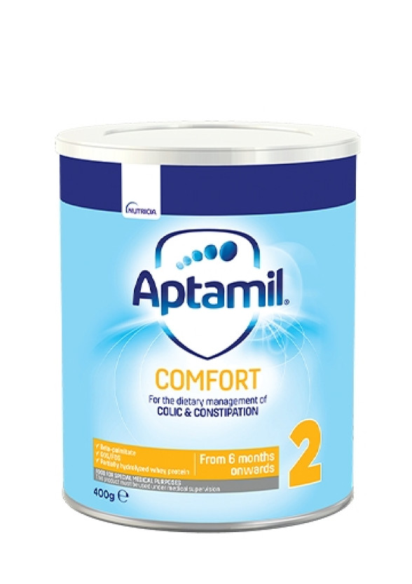 АПТАМИЛ 2 Комфорт с Pronutra+ Преходно мляко 6-12 м. 400гр. | APTAMIL 2 Comfort with Pronutra+ Follow on milk formula 6-12 m 400g