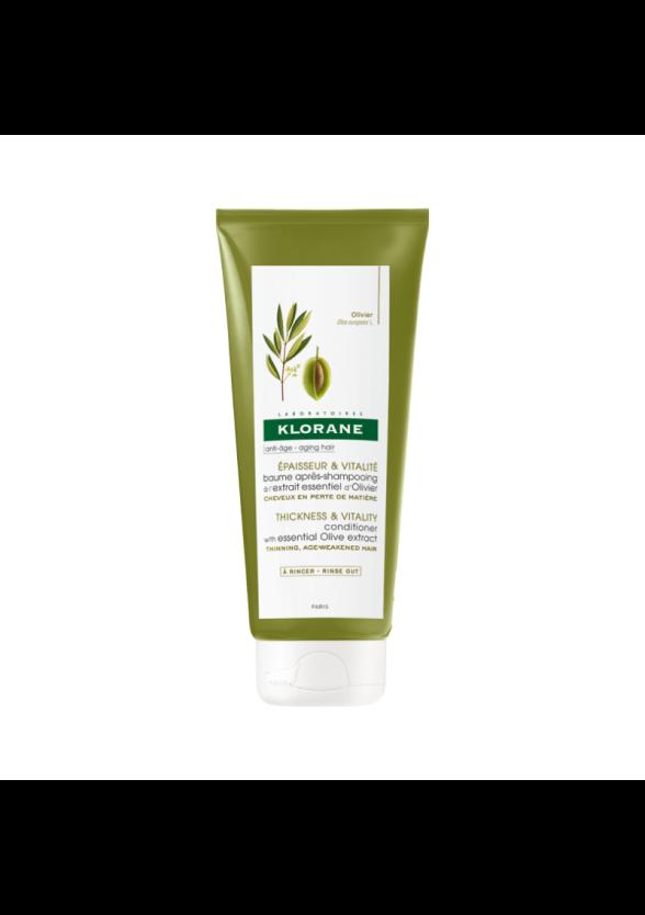 КЛОРАН Балсам с есенциален екстракт от маслина 200мл | KLORANE Conditioner with essential olive extract 200ml
