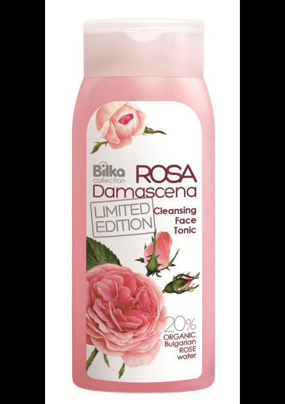 БИЛКА РОЗА ДАМАСЦЕНА Почистващ тоник за лице 200мл | BILKA ROSA DAMASCENA Face cleansing tonic 200ml