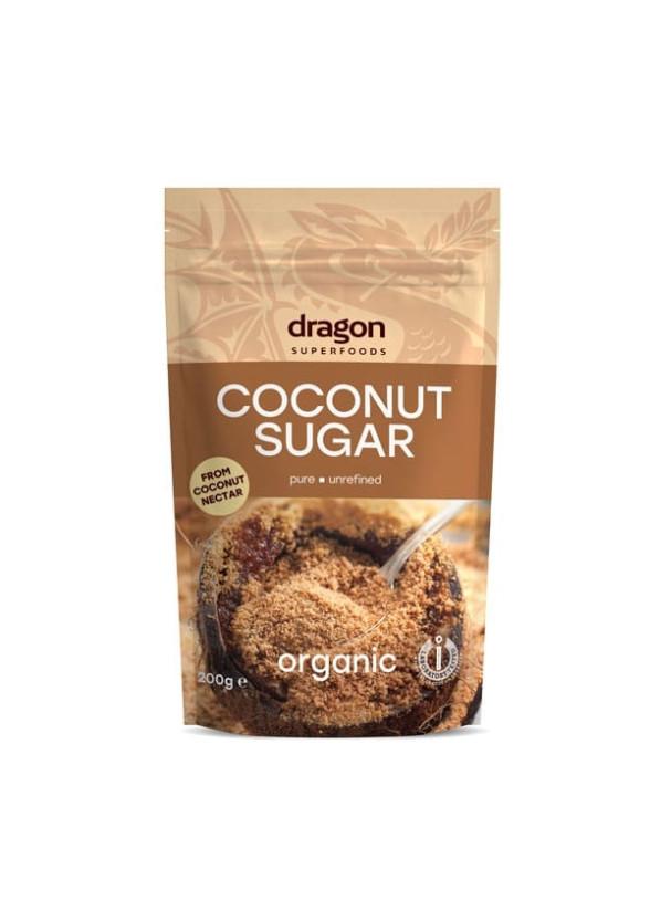 БИО Кокосова захар 250гр ДРАГОН СУПЕРФУУДС   BIO Coconut sugar 250g DRAGON SUPERFOODS