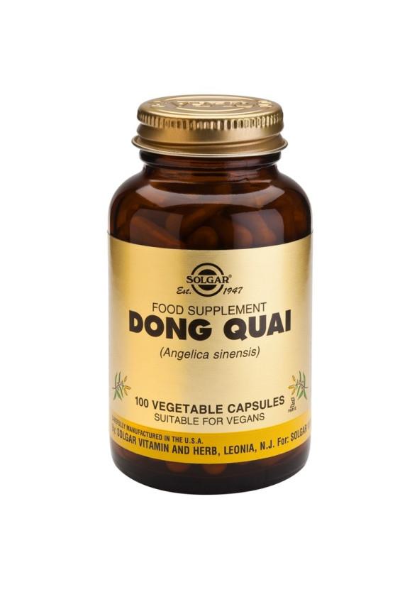 ДОНГ КАЙ (китайска ангелика) раст. капсули 100бр. СОЛГАР | DONG QUAI veg.caps 100s SOLGAR