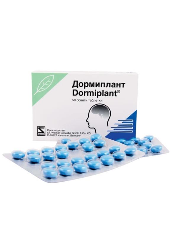 ДОРМИПЛАНТ обвити таблетки 50бр. | DORMIPLANT coated tablets 50s