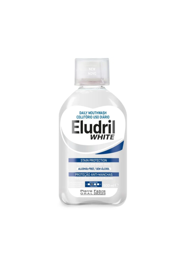Вода за уста ЕЛУДРИЛ УАЙТ 500мл | Mouthwash ELUDRIL WHITE 500ml