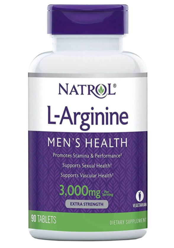 L-АРГИНИН 3000мг таблетки 90 бр. НАТРОЛ | L-ARGININE 3000mg tabs 90s NATROL