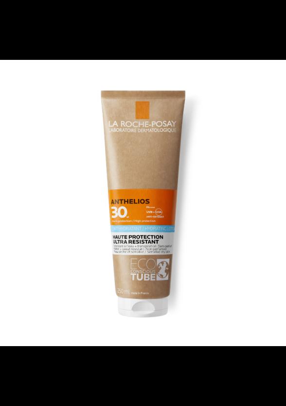 ЛА РОШ ПОЗЕ АНТЕЛИОС ХИДРАТИРАЩО Слънцезащитно мляко ЕКО опаковка SPF30 x 250мл   LA ROCHE-POSAY ANTHELIOS HYDRATING Body sun lotion ECO tube SPF30 x 250ml