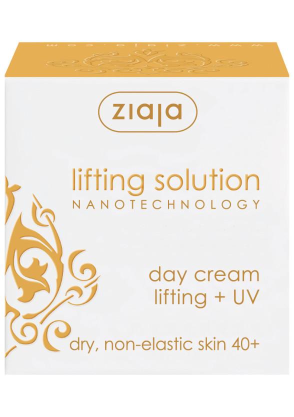 ЖАЯ Дневен крем за лице с лифтинг ефект със spf12 50мл | ZIAJA Day cream lifting solutions spf12 50ml