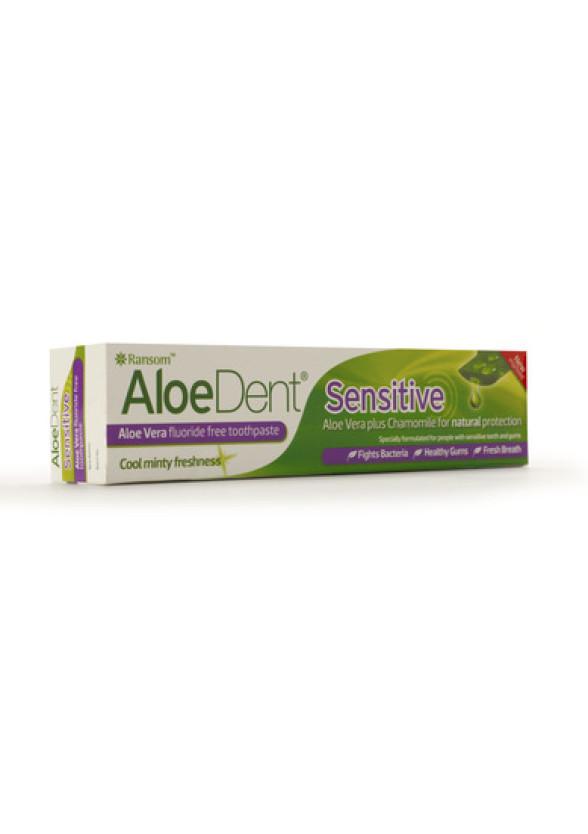 ОПТИМА АЛОЕДЕНТ Паста за зъби за чувствителни зъби 100мл | OPTIMA ALOEDENT Toothpaste sensitive 100ml