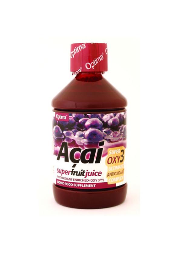Сок от Акай ОПТИМА 500мл   Acai juice with Oxy3 OPTIMA 500ml