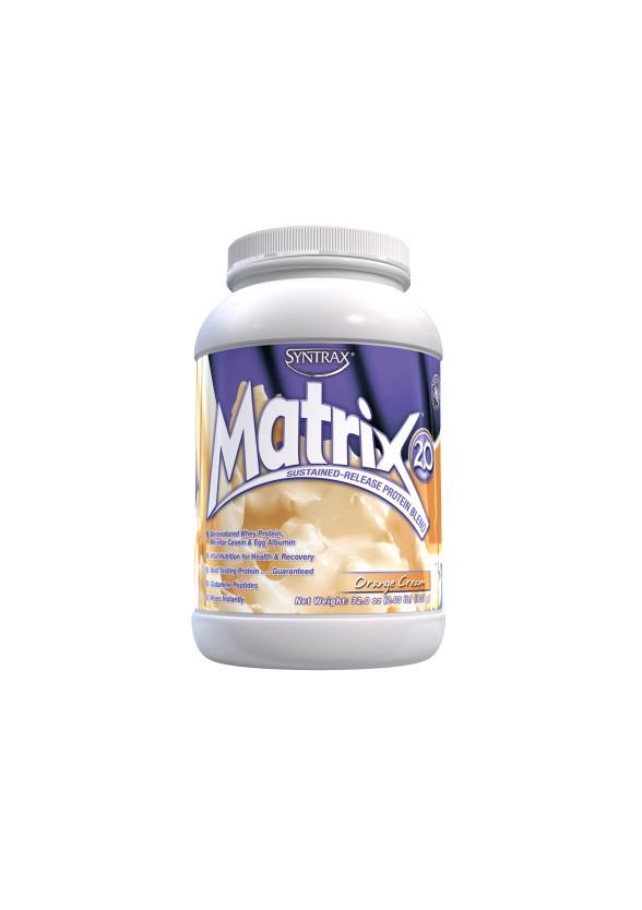 МАТРИКС 2.0 – ПОРТОКАЛОВ КРЕМ прах 907г СИНТРАКС   MATRIX 2.0 – ORANGE CREAM pwd 907g SYNTRAX