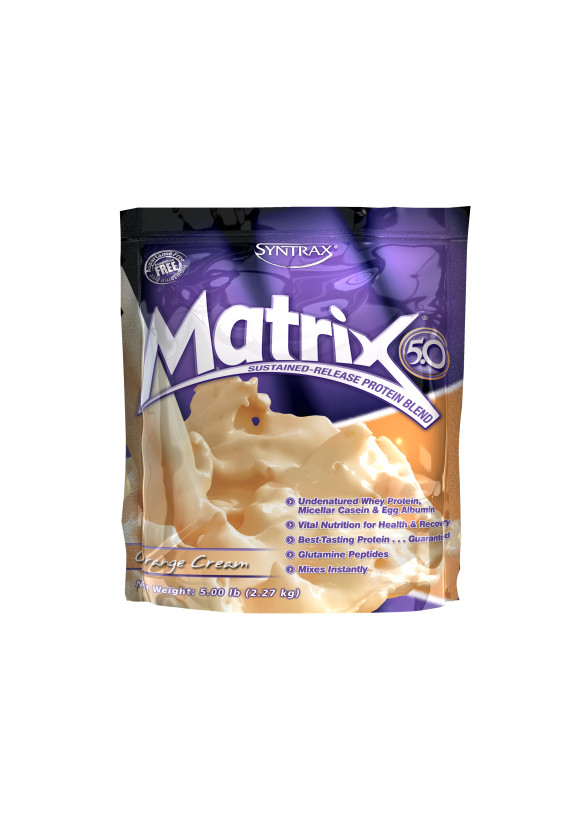 МАТРИКС 5.0 – ПОРТОКАЛОВ КРЕМ прах 2.27кг СИНТРАКС | MATRIX 5.0 – ORANGE CREAM pwd 2.27kg SYNTRAX