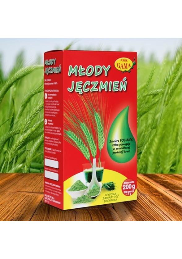 ФИН ЗЕЛЕН ЕЧЕМИК прахообразна форма 200гр ПВМ ГАМА | FINE GREEN BARLEY powder 200g PWM GAMA