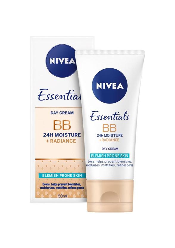 НИВЕА BB крем за проблемна кожа 50мл   NIVEA BB cream 5in1 beautifying moisturizer 50ml