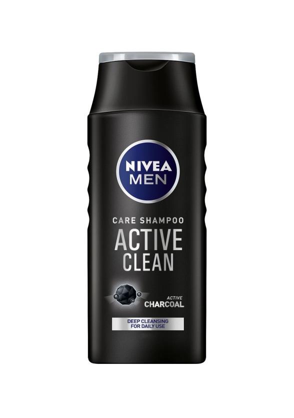 НИВЕА МЕН АКТИВ КЛИЙН Шампоан за мъже 400мл | NIVEA MEN ACTIVE CLEAN Care shampoo 400ml