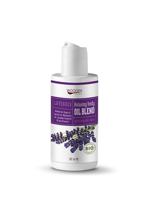 УДЪН СПУУН Релаксиращо олио за тяло с лавандула 100мл | WOODEN SPOON Body Oil Blend Lavender 100ml