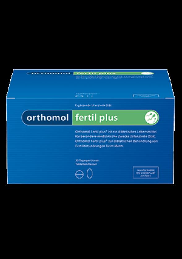 ФЕРТИЛ ПЛЮС за мъжка потентност 30бр. дози ОРТОМОЛ   FERTIL PLUS 30s doses ORTHOMOL