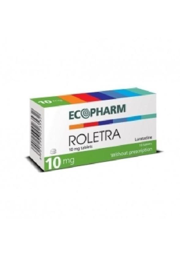 РОЛЕТРА 10мг. таблетки 10бр. | ROLETRA 10mg tablets 10s
