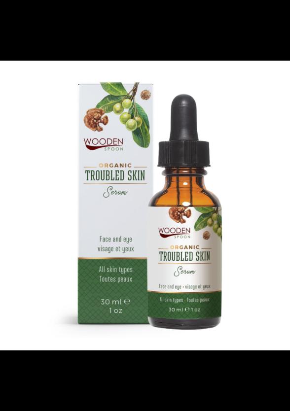 Серум за лице за проблемна кожа 30мл УДЪН СПУУН  | Face serum for troubled skin 30ml WOODEN SPOON