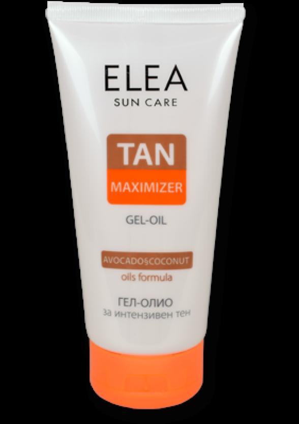 ЕЛЕА Гел - олио за интензивен тен 150мл | ELEA Sun care tan maximizer gel oil 150ml