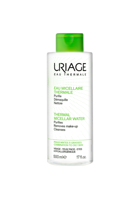 ЮРИАЖ Термална мицеларна вода за комбинирана към мазна кожа 500мл | URIAGE Thermal micellar water for mixed to oily skin 500ml
