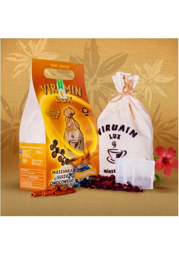 ВИРУМИН-ЛУКС с канела, филтърни торбички 30бр x 2.5г (75гр общо) ПВМ ГАМА | VIRUMIN-LUX with cinnamon, filter bags 30s x 2.5g (75g total) PWM GAMA