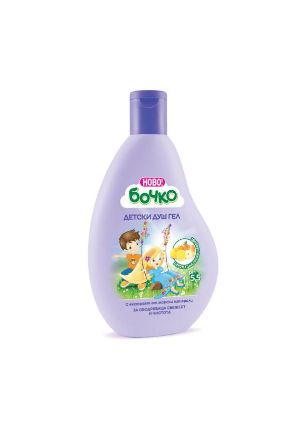 БОЧКО Детски душ-гел с екстракт от морски минерали 250мл | BOCHKO Kids shower gel with sea minerals extract 250ml
