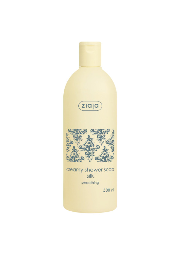 ЖАЯ Кремообразен душ гел с протеини от коприна 500мл | ZIAJA Creamy shower soap with silk 500ml