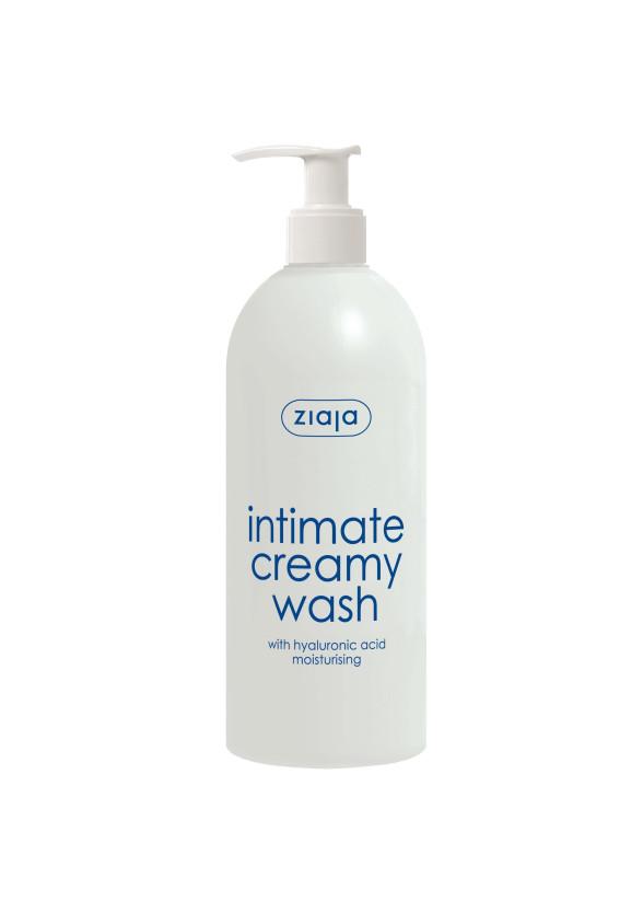 ЖАЯ Интимен кремообразен душ гел с хиалуронова киселина 500мл | ZIAJA Intimate creamy wash with hyaluronic acid 500ml