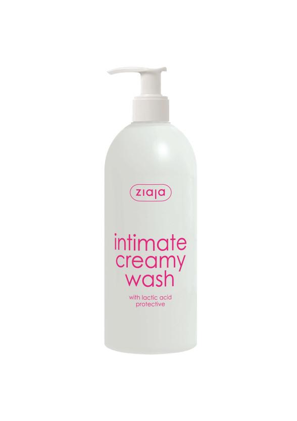 ЖАЯ Интимен кремообразен душ гел с млечна киселина 500мл | ZIAJA Intimate creamy wash with lactic acid 500ml
