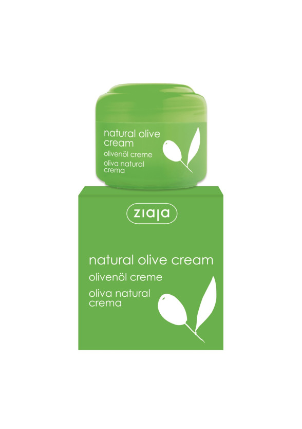 ЖАЯ Крем за лице с маслина 50мл | ZIAJA Natural olive cream 50ml