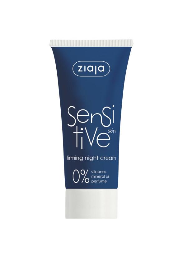 ЖАЯ Нощен крем за чувствителна кожа 50мл   ZIAJA Sensitive firming night cream 50ml