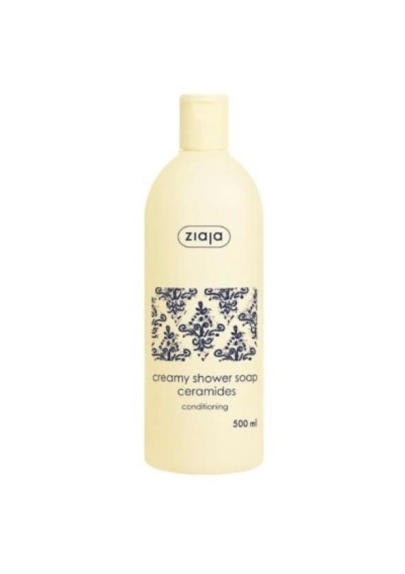 ЖАЯ СЕРАМИДИ Кремообразен душ гел 500мл | ZIAJA CERAMIDES Creamy shower soap 500ml
