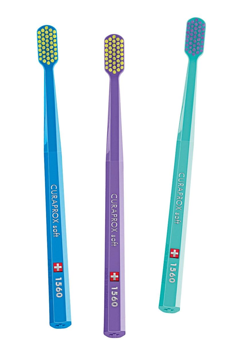 КУРАПРОКС Четка за зъби 1560 софт   CURAPROX Toothbrush 1560 soft