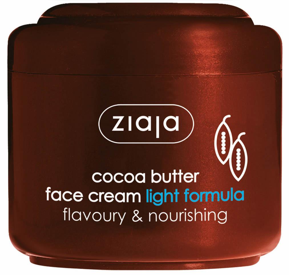 ЖАЯ Крем за лице с масло от какао лека формула 100мл | ZIAJA Cocoa butter face cream light formula 100ml