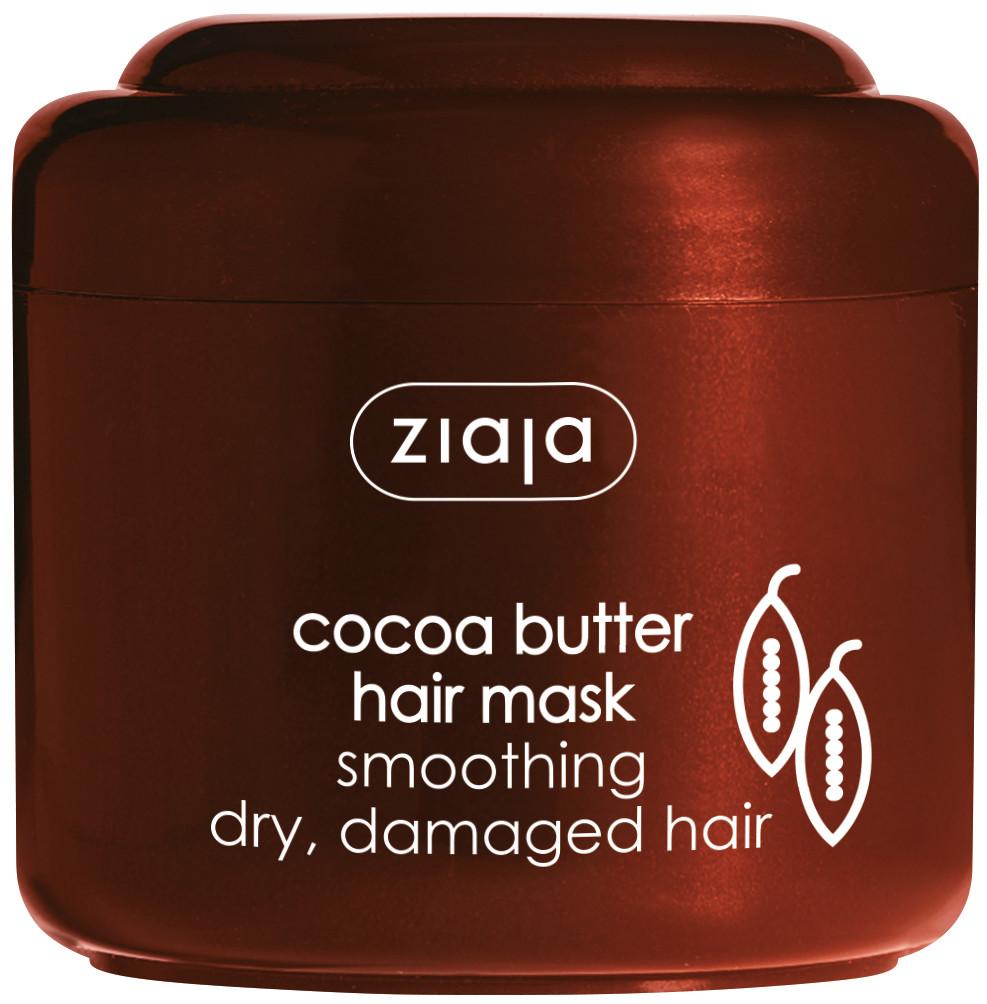 ЖАЯ Маска за коса с масло от какао 200мл   ZIAJA Cocoa butter hair mask 200ml