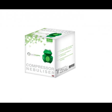 ЕВРОФАРМА Компресорен инхалатор Жаба CN - 02WY | EUROPHARMA Compressor nebuliser Frog CN - 02WY